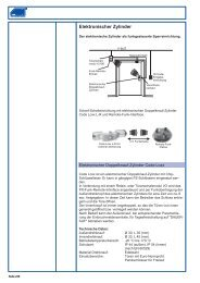 Elektronischer Zylinder - ABI Sicherheitssysteme GmbH
