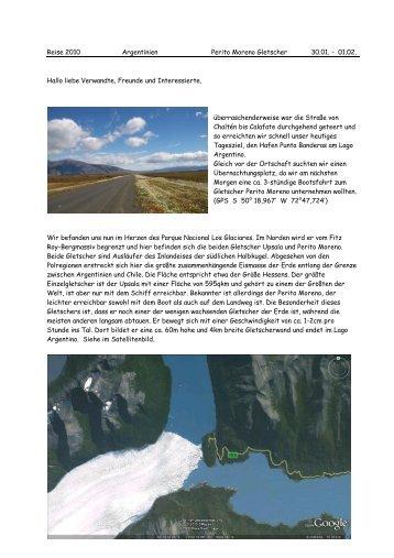 Teil 25 Perito Moreno Gletscher