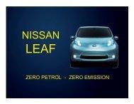 Nissan LEAF - AEVA