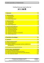 B00 / INHALTSVERZEICHNIS / 07.11.2012 - Department Wasser ...