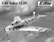 F-86 Sabre 15 DF - HobbyTown USA