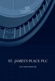 212877 St James Interim Text 2008:212877 St ... - St James's Place