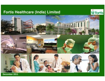 Fortis Healthcare (India) Limited