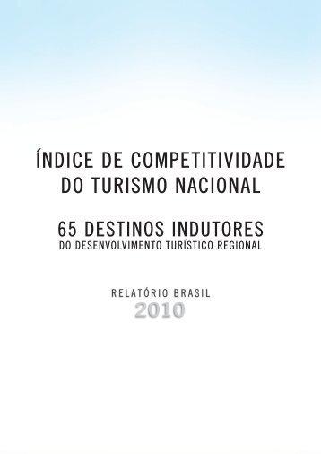 índice de competitividade do turismo nacional - Metas do Plano ...