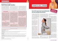 Rückenschmerzen: Was kostet Lebensqualität? - Dr. Kade