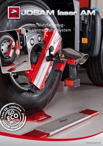 Nutzfahrzeug- Vermessungssystem - JOSAM