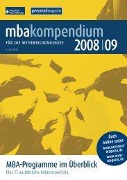 mbakompendium 2008 I 09