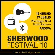 Programma Sherwood Festival 2010 - Global Project