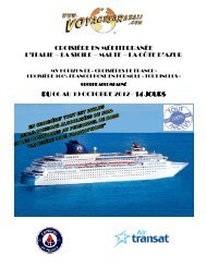 croisière en méditerranée l'italie – la sicile ... - Voyages à rabais