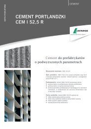 Karta produktowa CEM I 52,5 R - Lafarge