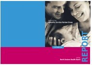 Maternity Services Review Group North Eastern Health Board