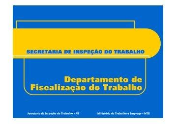 Departamento de Fiscalização do Trabalho
