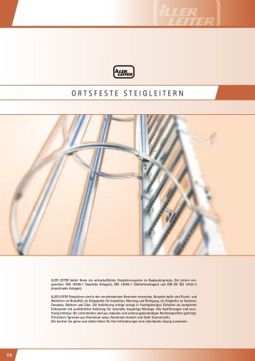 ORTSFESTE STEIGLEITERN - Iller-Leiter