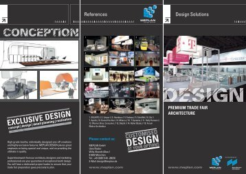 Design Solutions References - Meplan GmbH