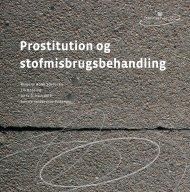 Prostitution og stofmisbrugsbehandling - Socialstyrelsen