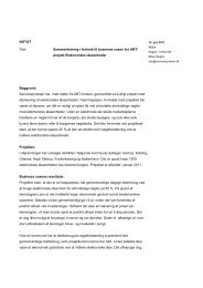 Servicestyrelsens sammenfatning-elektroniske ... - Socialstyrelsen