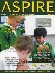 DURSTON HOUSE - Aspire Magazine