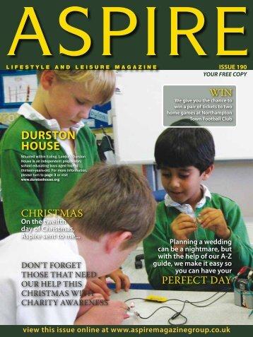 DURSTON HOUSE - Aspire Magazine