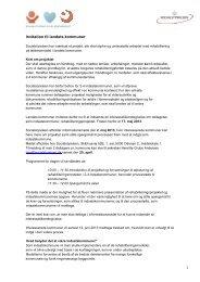 Mere viden om ansøgningsproces og krav til ... - Socialstyrelsen