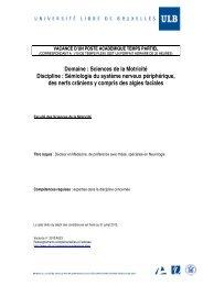 Sémiologie du système nerveux périphérique, des nerfs crâniens y ...