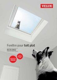 Téléchargez notre brochure Fenêtre pour toit plat (.pdf - Velux