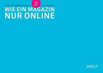 WiE EiN MagaZiN - Wolf-corporate.de