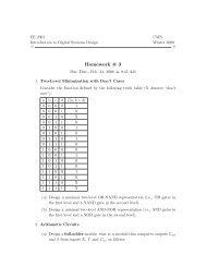 Homework # 3