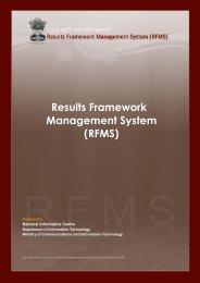 RFMS - Performance Management Division
