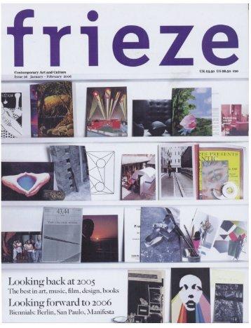 frieze - 4. Berlin Biennale