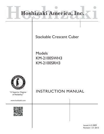 hoshizaki modular crescent cuber hoshizaki america inc rh yumpu com Hoshizaki Ice Machine Troubleshooting Hoshizaki Parts Manuals