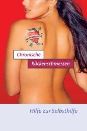 Chronischer Rückenschmerz - Dr. Kade
