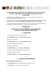 Guide pratique de la production et la fabrication des ... - Normannia