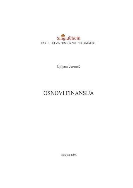Korporativne Finansije Teorija I Praksa Pdf