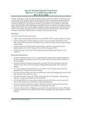 Meeting Summary - Aquatic Nuisance Species Task Force