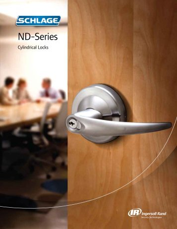 ND-Series Catalog - Ingersoll Rand Security Technologies