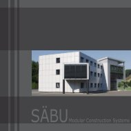 SÄBUModular Construction Systems
