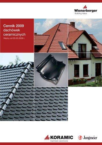 Cennik 2009 dachówek ceramicznych - PG Dachy