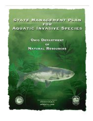 State Management Plan for Aquatic Invasive Species Ohio ...