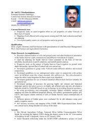 Dr. A.R. Chinchmalatpure - CSSRI Karnal