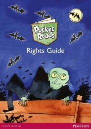 Pocket Reads Rights Guide 2013 - Pearson Global Schools