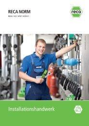 2013 04 katalog Installationshandwerk.pdf - RECA NORM