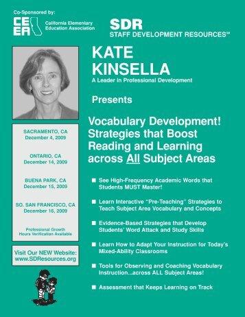 View/Print Brochure - Staff Development Resources
