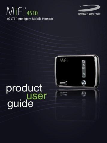 Novatel MiFi 4510 User Guide En_Latam - R1 - Cellcom