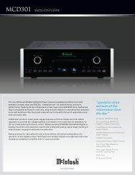 Mcd301 SACD/cd