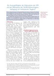 Statistiken Daten und Analysen – Q3-06 – Zur Aussagef‰higkeit der ...