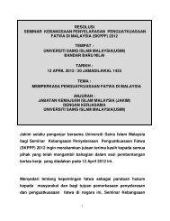RESOLUSI SKPPF 2012 - Jabatan Kemajuan Islam Malaysia