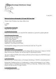 2013 05 29 referat - Grundejerforeningen Slotsfruens Vænge
