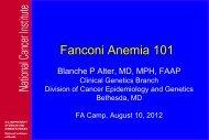 Fanconi Anemia 101 - Fanconi Anemia Research Fund