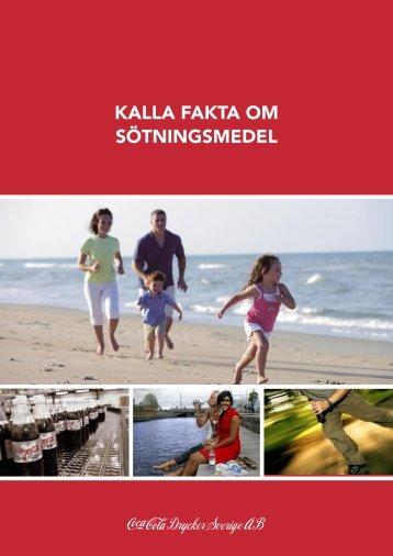 KALLA FAKTA OM SÖTNINGSMEDEL - Coca-Cola