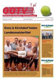 Enns & Kirchdorf holen Landesmeistertitel